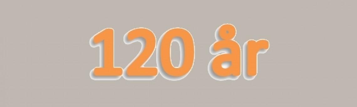 120 Års Jubilæum