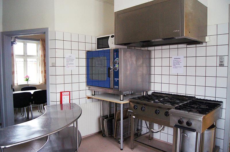 Sall Forsamlingshus Køkken